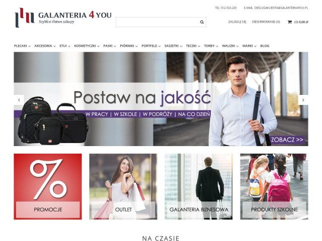 Galanteria4you  • Torba męska na laptopa